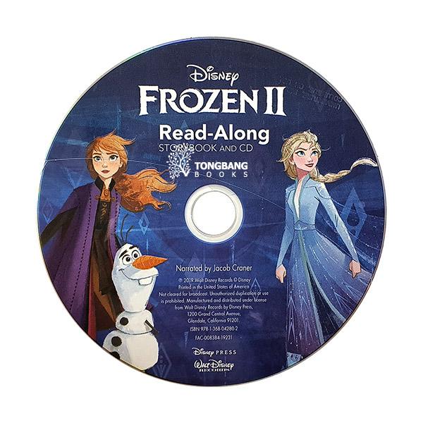 [베스트★2020] Disney Read-Along Storybook : Frozen2 : 겨울왕국2 (Book & CD)